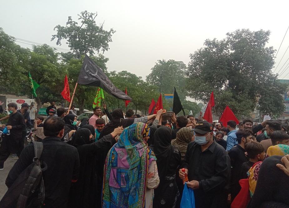 لاہور، اربعین واک کے مناظر