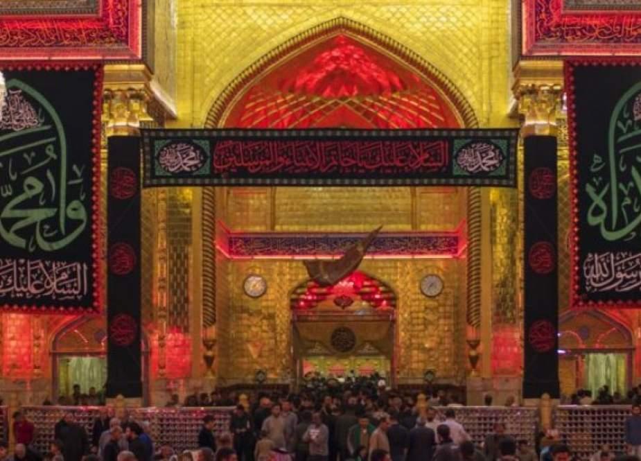العتبة العلوية: 6 ملايين زائر احيوا زيارة وفاة النبي (ص) في النجف