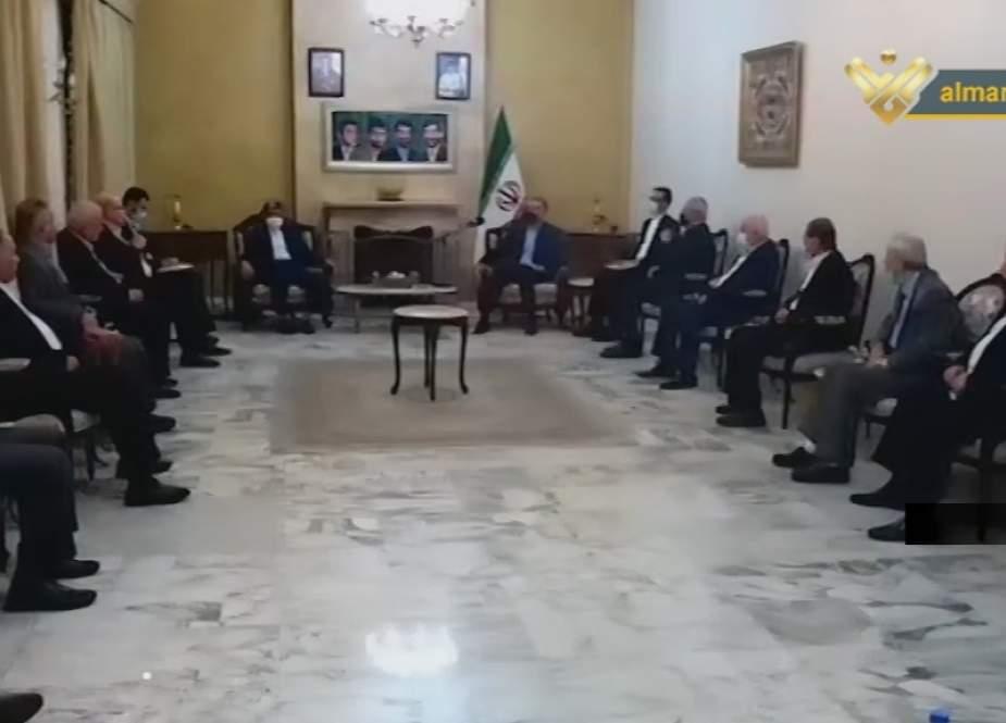 Menlu Iran Bertemu Delegasi Fraksi Perlawanan Palestina di Beirut