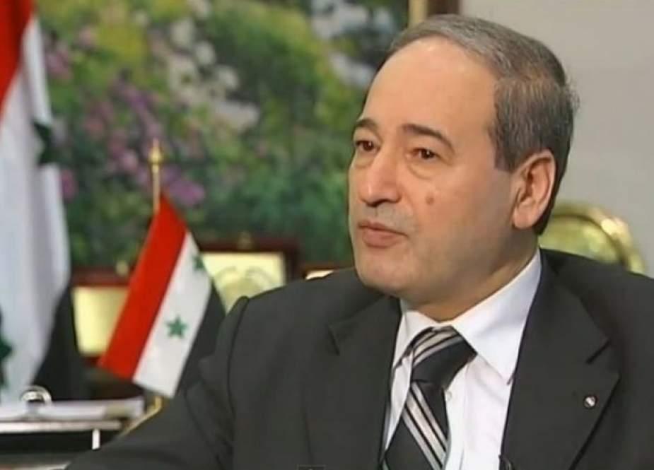المقداد يتحدث عن أفق جديد للعلاقات بين سوريا والأردن
