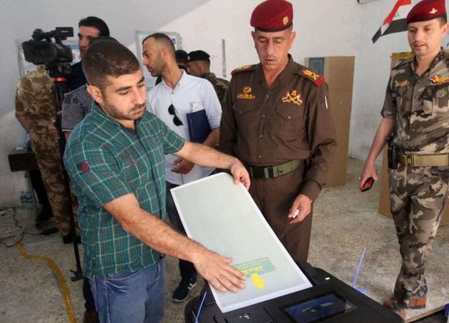 انطلاق عملية التصويت الخاص في الانتخابات البرلمانية العراقية