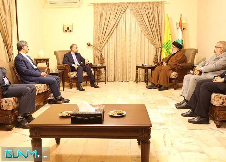 Sayyed Nasrallah Receives Amir Abdollahian: Iran Proved to Be an Honest Ally and a Loyal Friend
