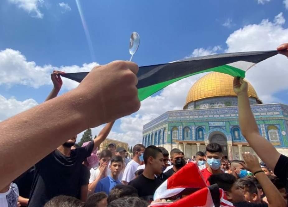 المقاومة الفلسطينية تدعو للرباط بالمسجد الأقصى رفضاً لإعتداءات الاحتلال