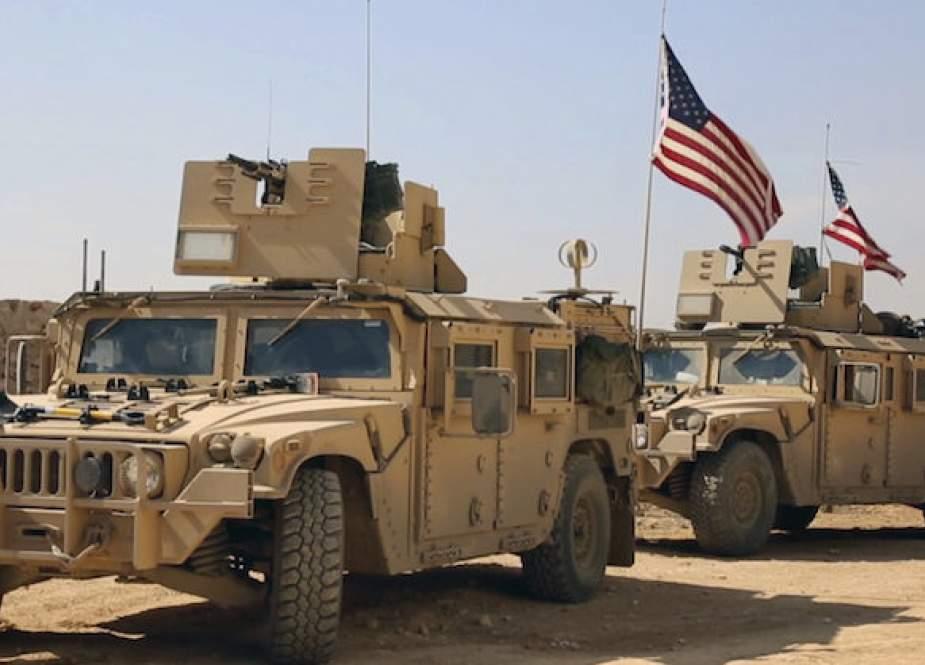Suriah: Pasukan AS Bawa Kendaraan Penuh Senjata ke Pangkalan di Desa Hasaka