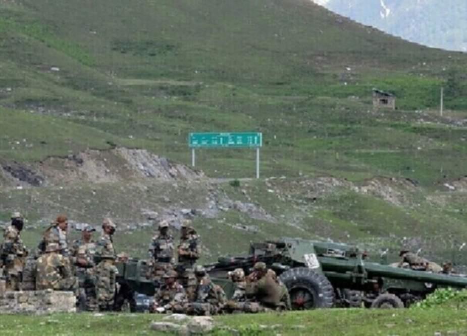 اشتباك على الحدود بين الهند والصين
