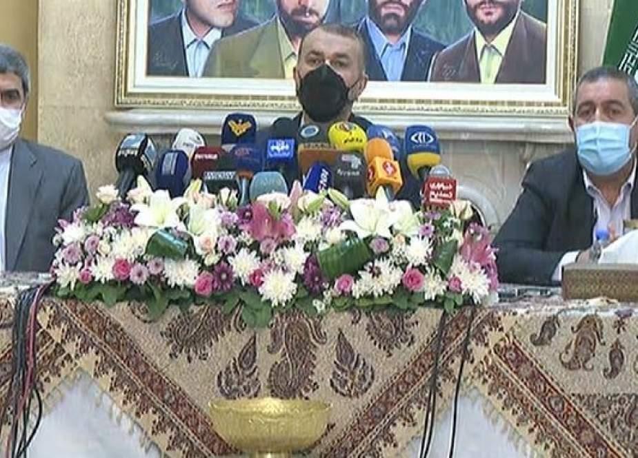 عبد اللهيان: سنواصل ارسال المشتقات النفطية الى لبنان
