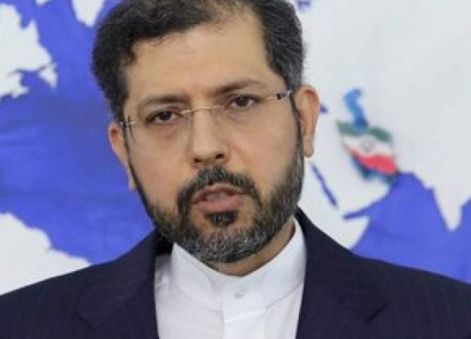 طهران تندد بالاعتداء الارهابي على مسجد في ولایة قندوز بأفغانستان