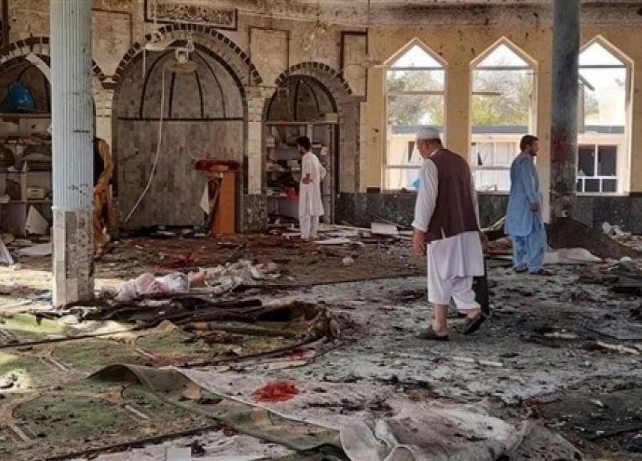 300 شهيد وجريح خلال انفجار انتحاري بمسجد قندوز