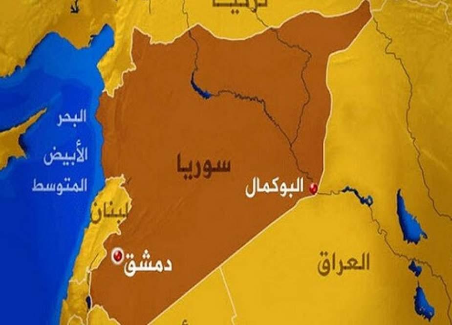 حمله پهپادی ناشناس به «البوکمال» در مرزهای مشترک سوریه و عراق