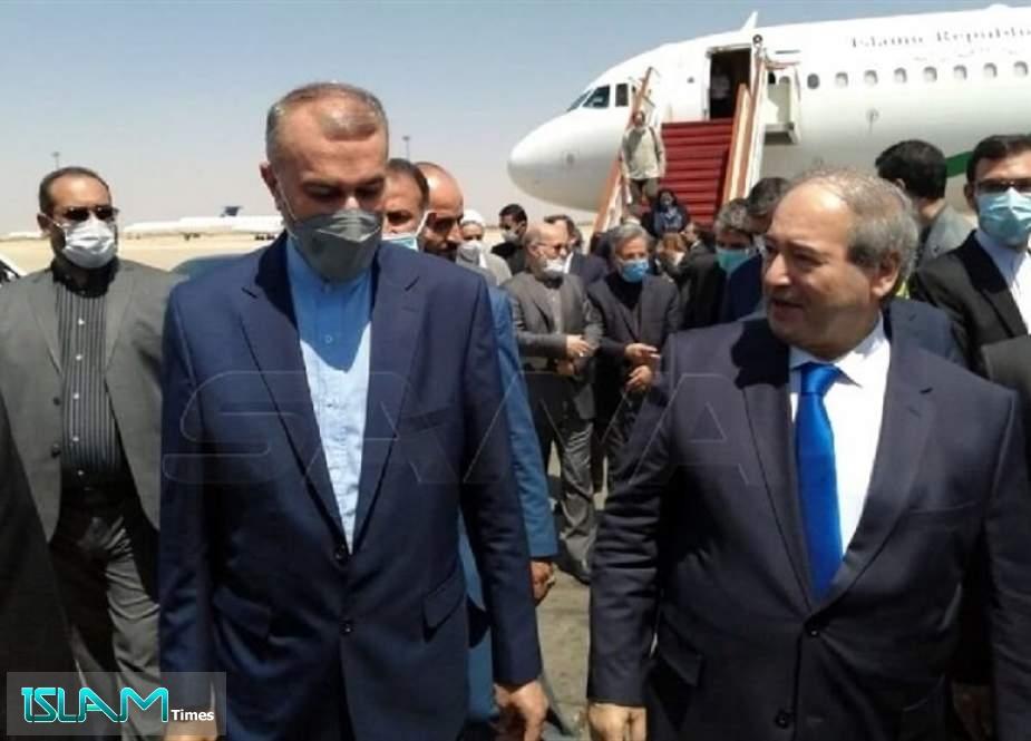 Iranian FM Leaves Lebanon for Syria