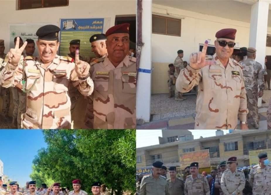عمليات بغداد تعلن نجاح الخطة الأمنية الخاصة بعملية التصويت الخاص