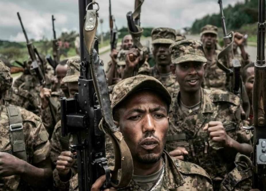 الجيش الإثيوبي يشن هجوماً على متمردي تيغراي