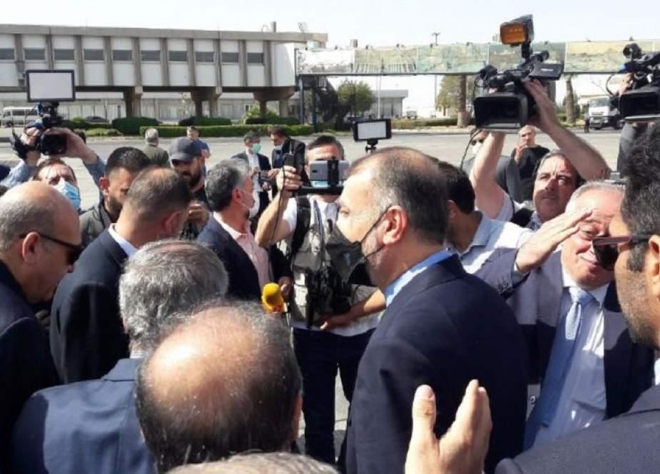 أمير عبد اللهيان يصل الى محطته الثالثة في جولته بالمنطقة