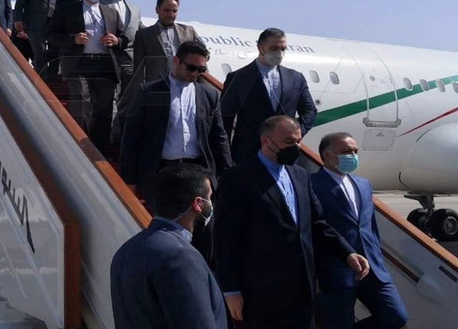 أمير عبد اللهيان: ايران تقف الى جانب سوريا بكل قوتها