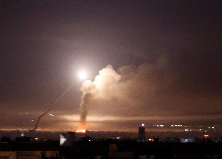 Suriya İsrail rejiminin raket hücumunu dəf etdi. 6 yaralı var