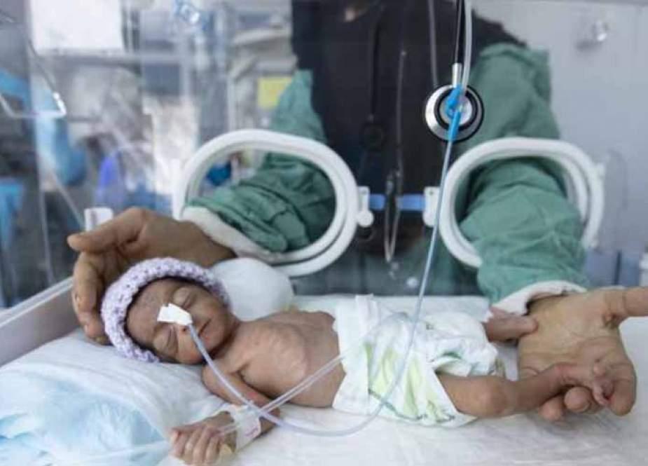 نتيجة جرائم العدوان.. ارتفاع قياسي في وفيات الأمهات والمواليد باليمن