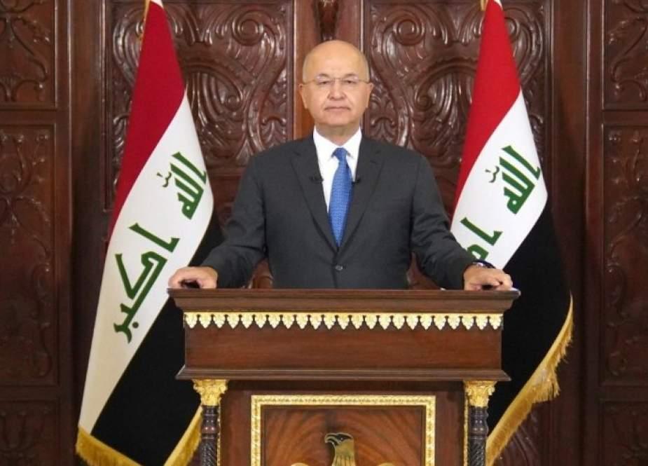 برهم صالح: المشاركة بالانتخابات ستشكل نقطة تحول في البلاد