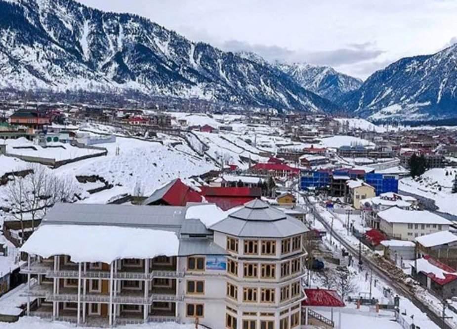 سوات سمیت دیگر شہروں میں موسم سرما کی پہلی ہلکی برفباری