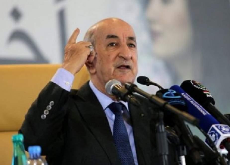 الرئيس الجزائري يرد بشأن أنباء استضافة بلاده قواعد عسكرية أمريكية