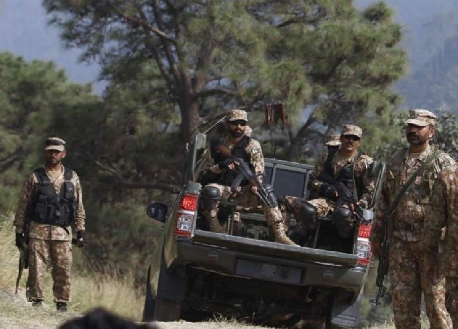 سیکورٹی فورسز کا شمالی وزیرستان میں آپریشن، دہشتگرد ہلاک