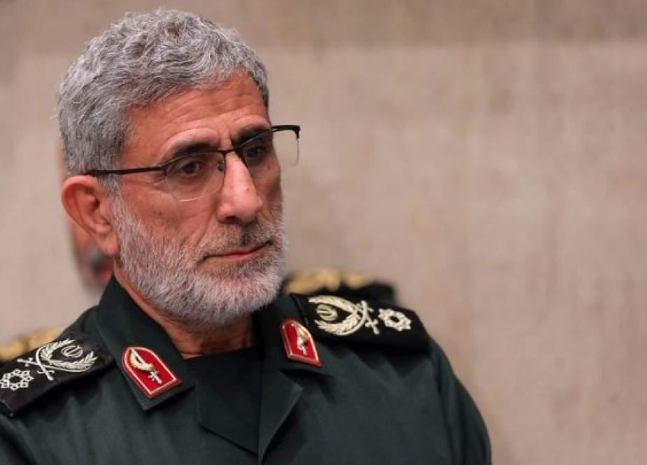 إيران تنفي زيارة قائد فيلق القدس إلى العراق