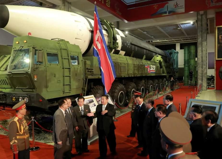 Kim Jong-un Memuji Pasukan Korea Utara yang