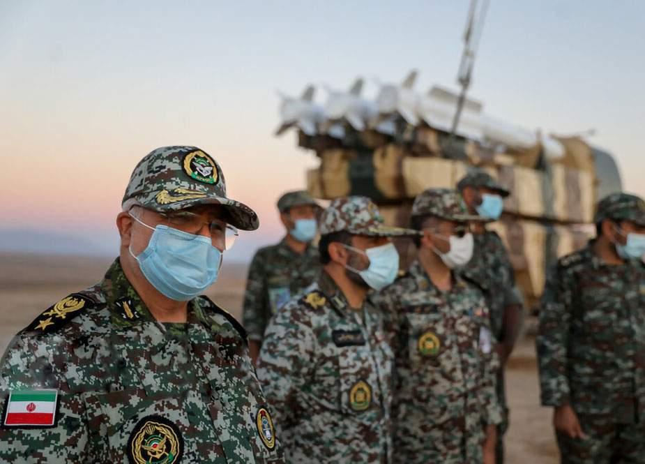 İran Ordusunun Havadan Müdafiə Qüvvələri hərbi təlimə başlayıb