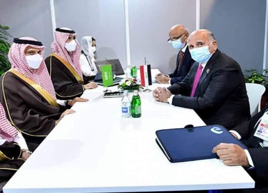 العراق يؤكد للسعودية استمرار مساعيه لخفض توترات المنطقة