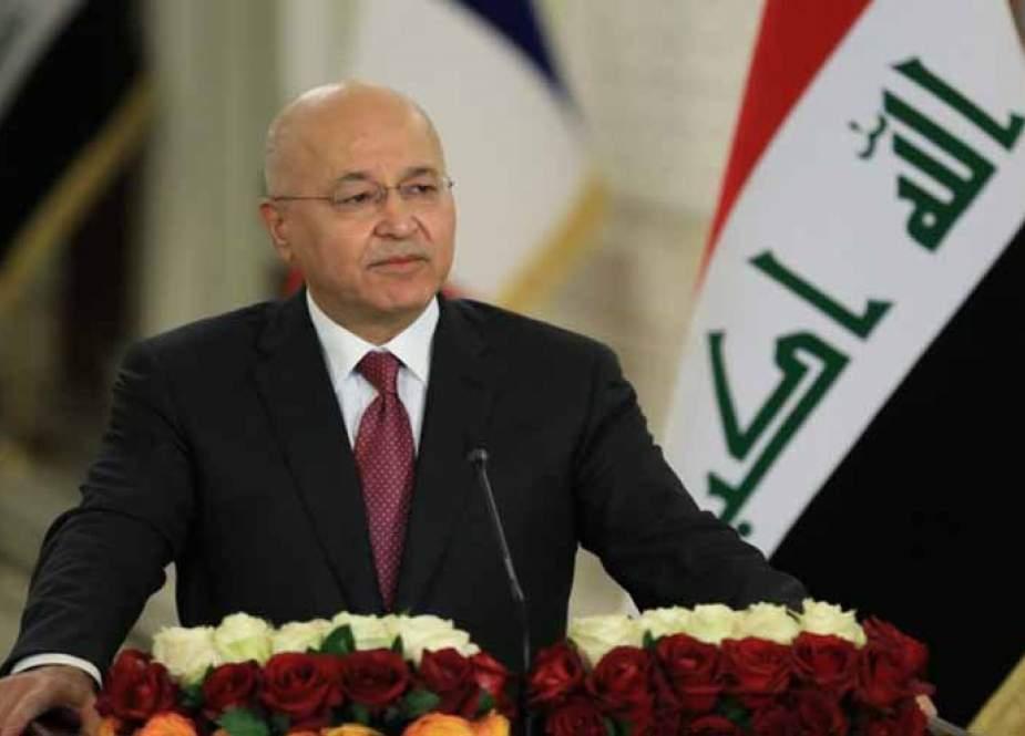صالح: نتطلع لمجلس نواب يعبر عن إرادة الشعب العراقي