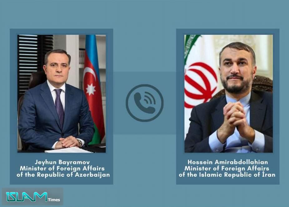İran və Azərbaycan XİN başçıları arasında telefon danışığı baş tutdu