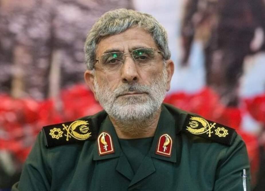 Utusan Iran Tolak Klaim Kunjungan Komandan Pasukan Quds IRGC ke Irak