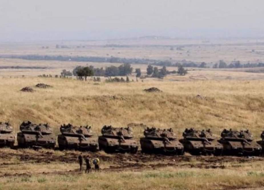 Israel Memindahkan Tank Ke Golan Yang Diduduki Setelah Suriah Bersumpah Untuk Merebutnya Kembali