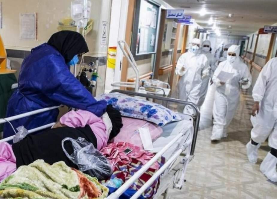 وزارة الصحة: 194 وفاة جديدة بكورونا في ايران