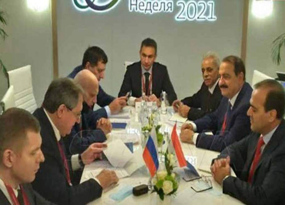 مباحثات سورية روسية حول التعاون في مجال الطاقة