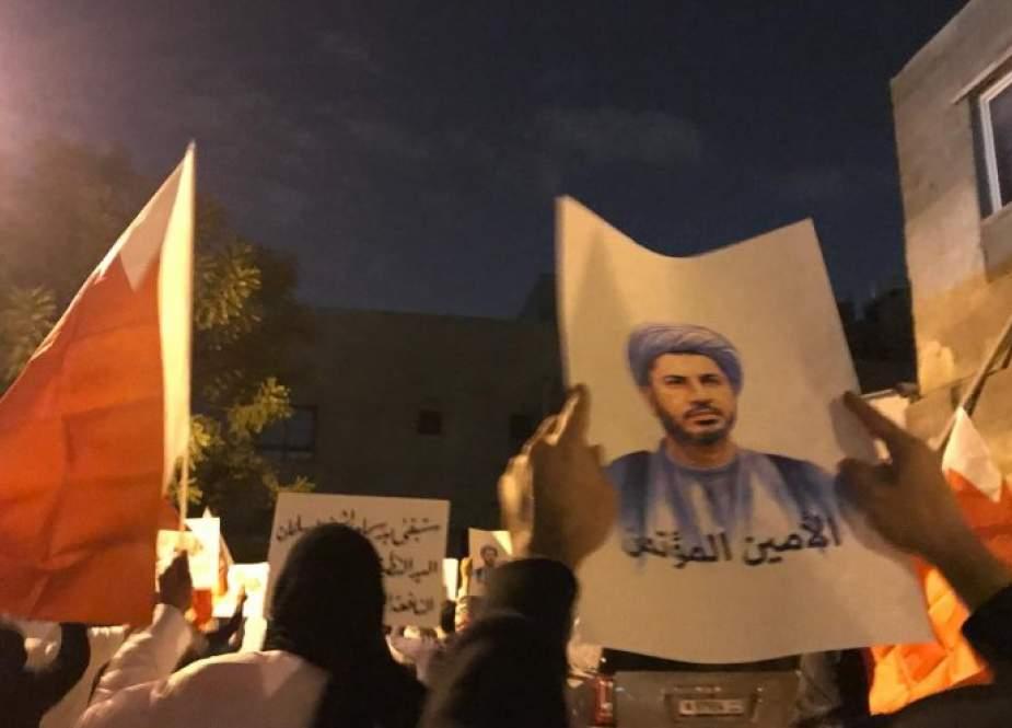 البحرين/الشيخ علي سلمان يوجّه رسالة لاية الله عيسى قاسم