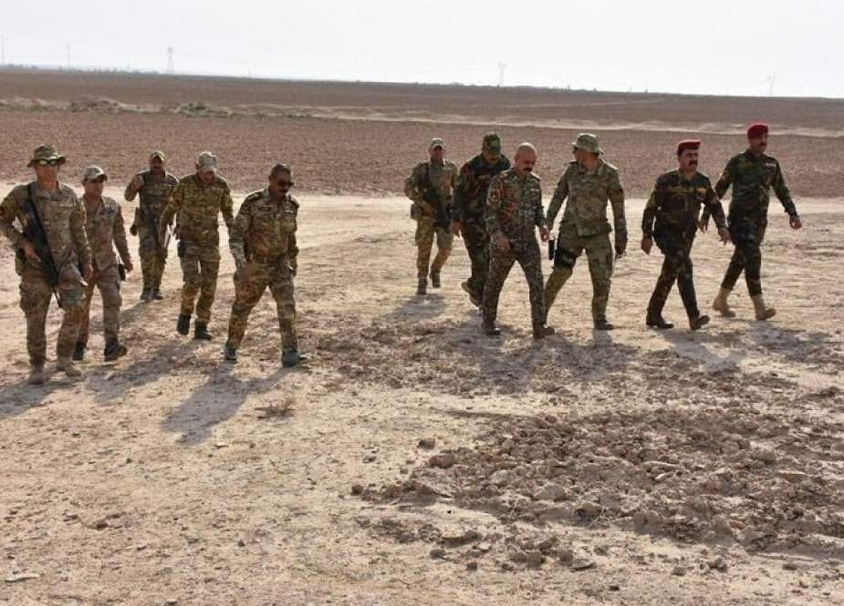 فرقة الرد السريع العراقية تدمر مضافات لداعش بآمرلي