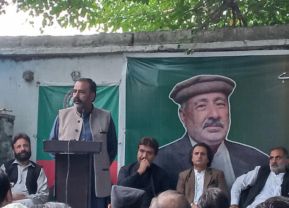 سینئر وزیر راجہ ذکریا خان مقپون