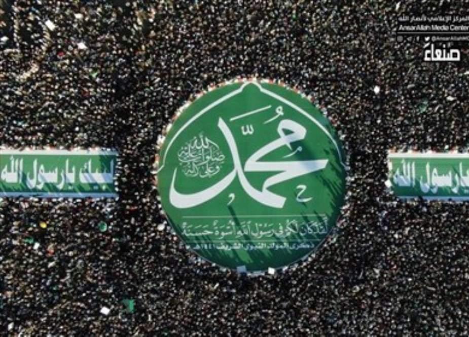 یمن میں لبيك يارسول الله کی گونج