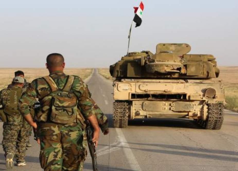 Satuan Tentara Suriah Menyisir Beberapa Daerah di Pedesaan Daraa