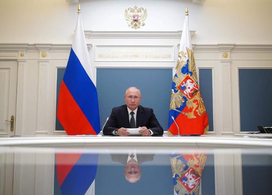 Putin: AUKUS-un yaradılması regional sabitliyi pozur