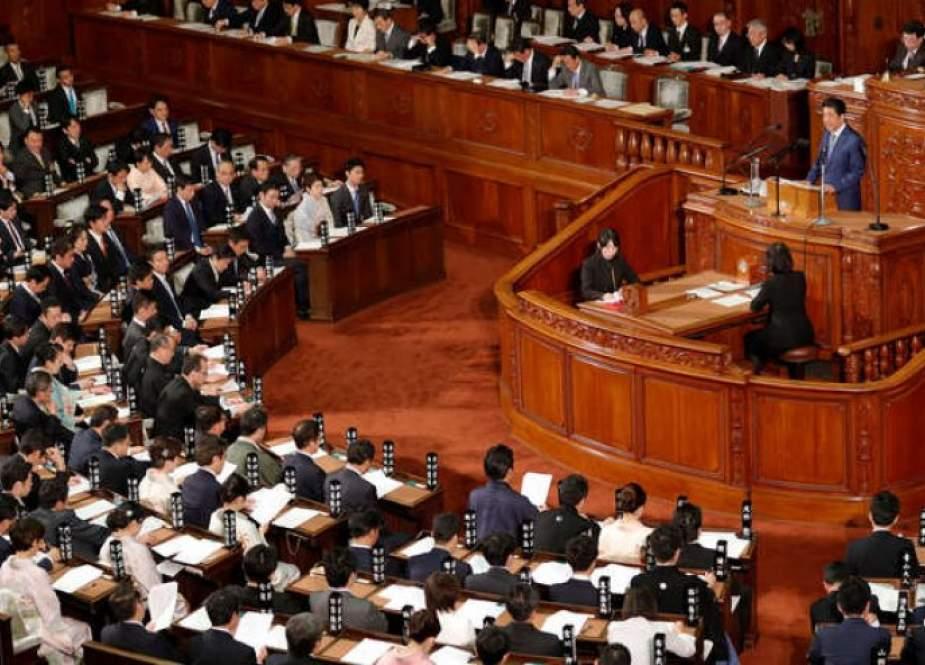 الیابان...حل البرلمان تمهيدا لإجراء انتخابات عامة
