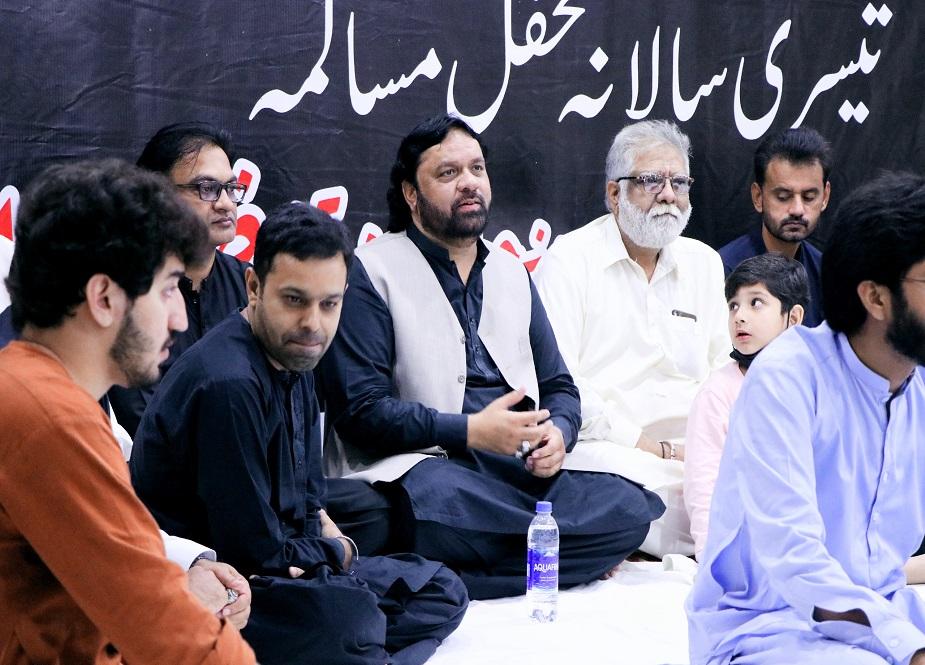 لاہور ہائیکورٹ کے شہداء ہال میں تنظیم القانون کے زیراہتمام تیسری سالانہ محفلِ مسالمہ کا انعقاد