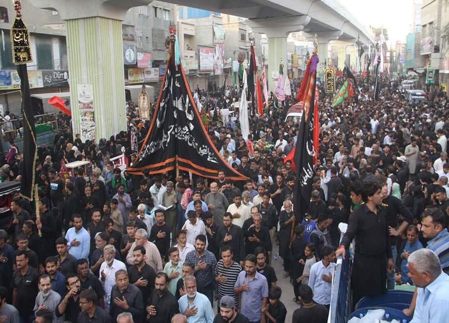 یوم شہادت امام حسن عسکریؑ پر کراچی میں چپ تعزیہ کے دو جلوس 15 اکتوبر کو برآمد ہونگے