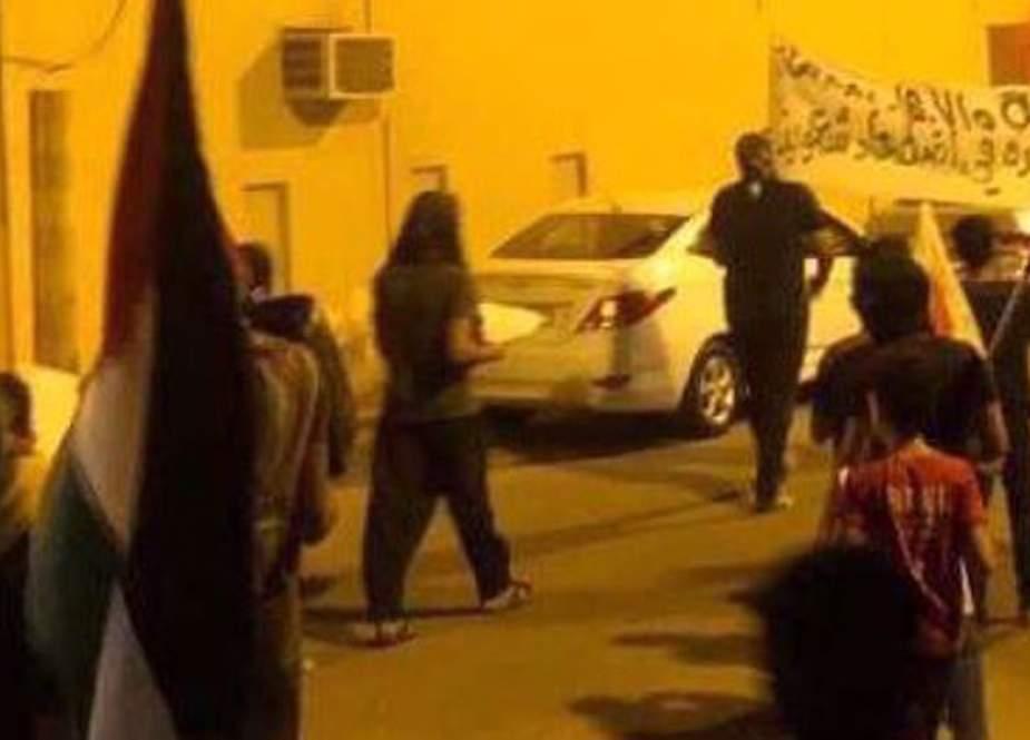 Rakyat Bahrain Memprotes Normalisasi Dengan Israel