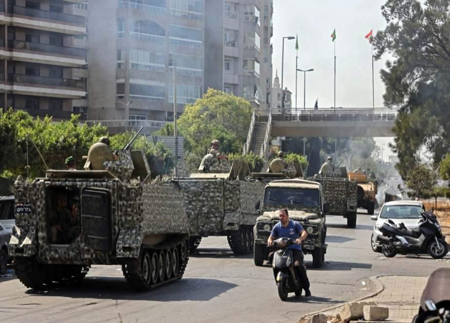 لبنان میں فتنہ انگیزی کی نئی کوشش