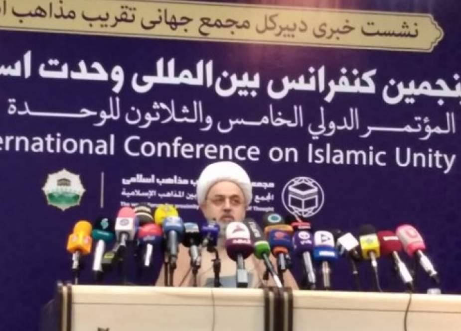 المؤتمر الدولي للوحدة الاسلامية يعقد في طهران بمشاركة 39 دولة