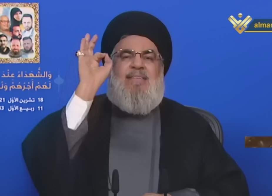Sayyed Nasrallah, beware, Hezbollah has 100,000 well-trained fighters.jpg