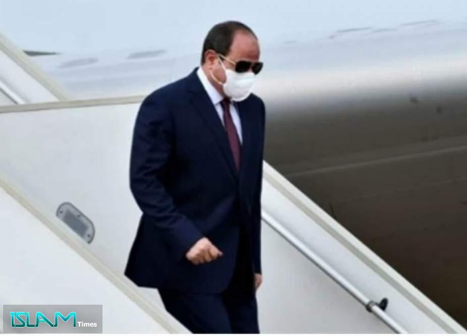 السيسي يصل اليونان للمشاركة في القمة الثلاثية