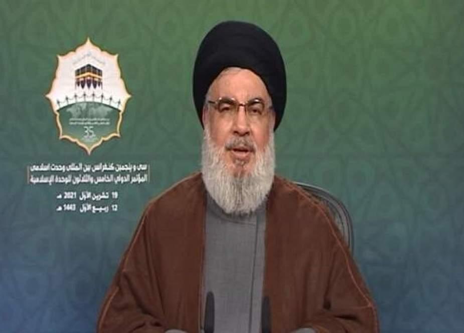 Nasrallah Mendesak Persatuan Di Antara Umat Islam Untuk Menggagalkan Plot Musuh