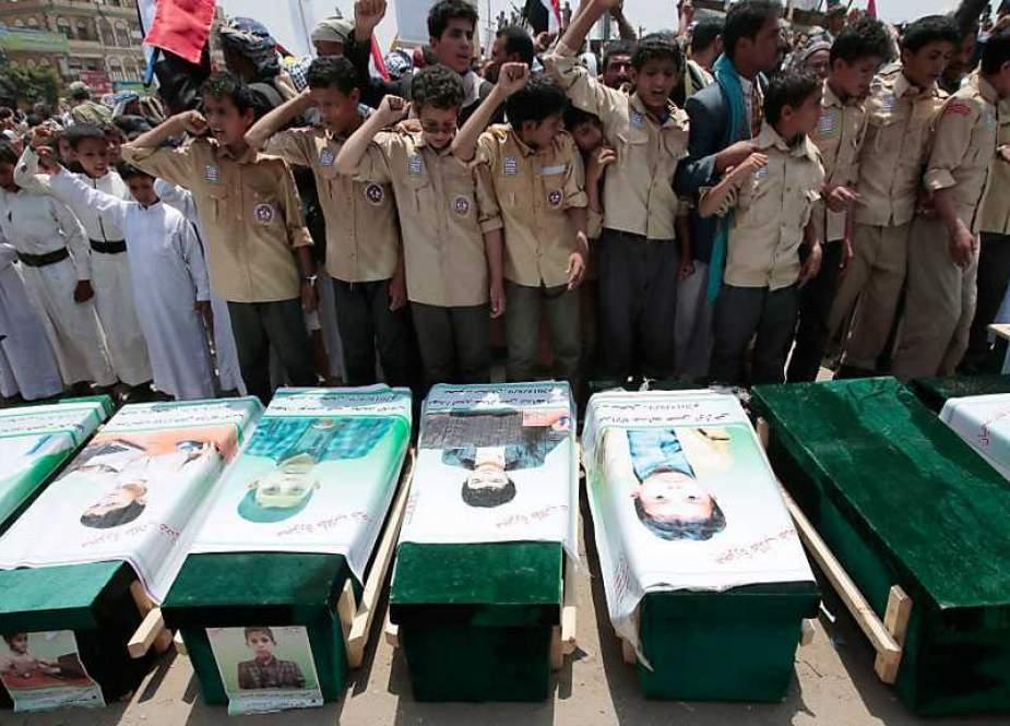 UNICEF: Perang Saudi Tewaskan atau Cacatkan 10.000 Anak Yaman